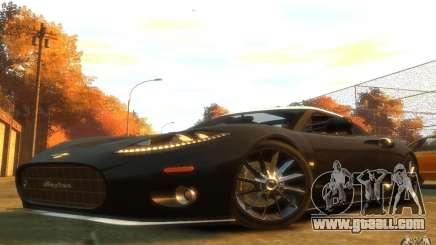 Spyker C8 Aileron for GTA 4
