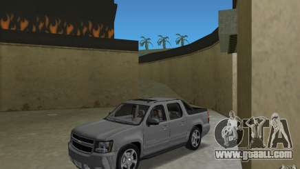 Chevrolet Avalanche 2007 for GTA Vice City