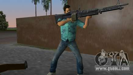The new M-60 for GTA Vice City
