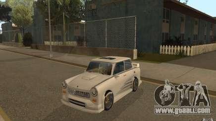 Trabant 601S Tuning for GTA San Andreas