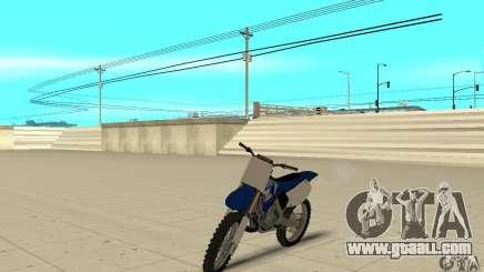 Yamaha YZ250 for GTA San Andreas