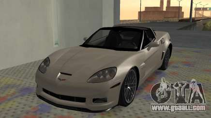 Chevrolet Covette Z06 for GTA San Andreas