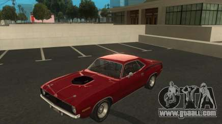 Plymouth Hemi Cuda 1970 440 of NFS PS for GTA San Andreas