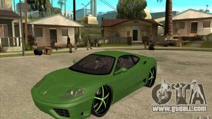 Ferrari 360 Modena for GTA San Andreas