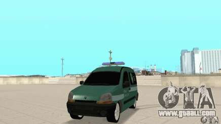 Renault Kangoo Straz Graniczna for GTA San Andreas