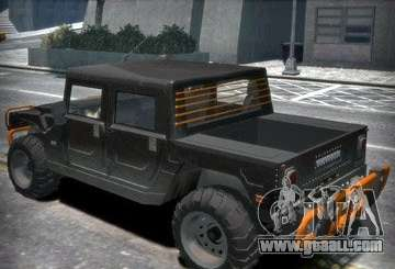 Hummer H1 4x4 Extras for GTA 4