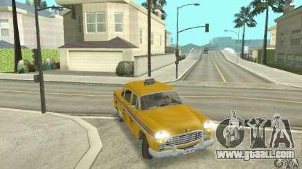 Checker Marathon 1977 Taxi for GTA San Andreas
