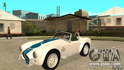 AC Shelby Cobra 427 1965 for GTA San Andreas