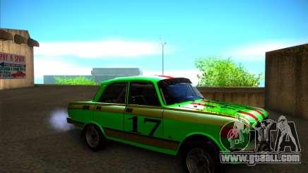 AZLK 2140SL rally for GTA San Andreas