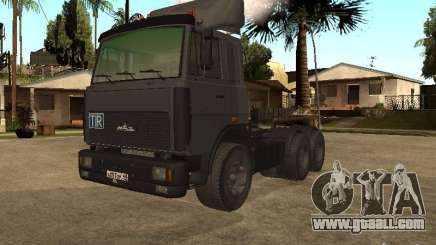 5336 MAZ truck for GTA San Andreas