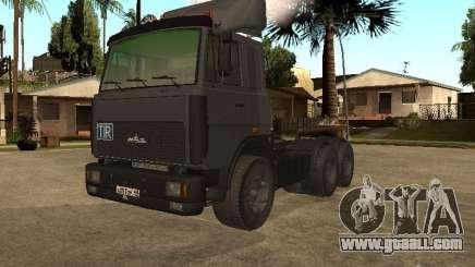 5336 MAZ truck for GTA San Andreas