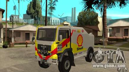 MAN TGA Rally OFFROAD for GTA San Andreas