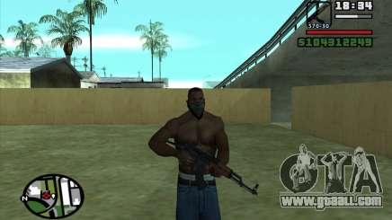 Akms for GTA San Andreas