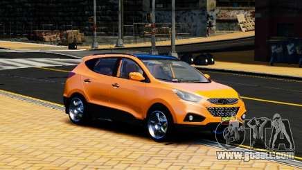 Hyundai ix35 2010 Final for GTA 4