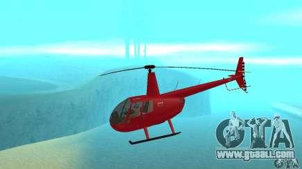 Robinson R44 Raven II NC 1.0 Skin 1 for GTA San Andreas