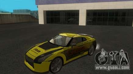 Nissan GTR35 for GTA San Andreas
