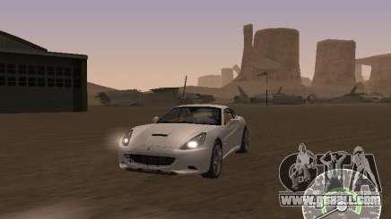 Ferrari California v1 for GTA San Andreas