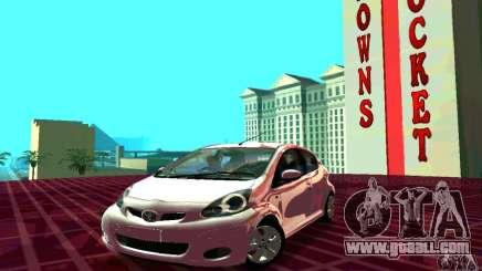 Toyota Aygo V1.0 for GTA San Andreas