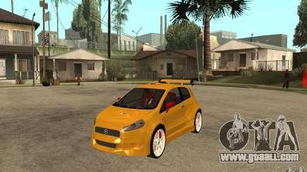 Fiat Grande Punto Tuning for GTA San Andreas