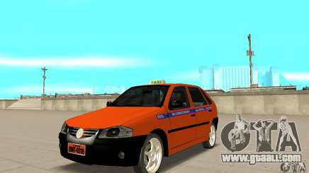 Volkswagen Gol G4 Taxi for GTA San Andreas