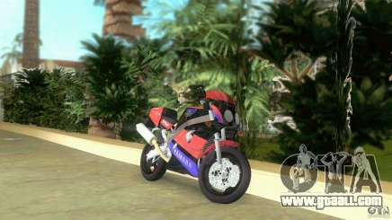 Yamaha FZR 750 black for GTA Vice City