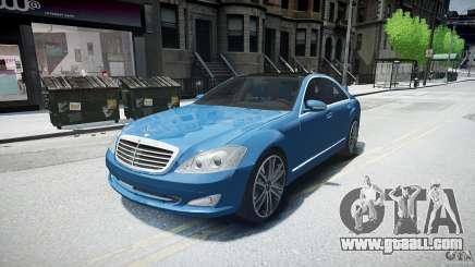 Mercedes Benz w221 s500 v1.0 sl 65 amg wheels for GTA 4