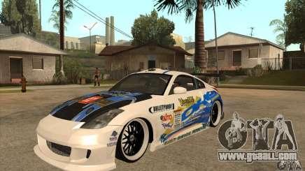 Nissan Z350 - Tuning for GTA San Andreas