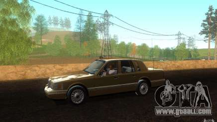 Lincoln Towncar 1991 for GTA San Andreas