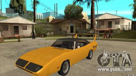 Plymouth Roadrunner Superbird Custom for GTA San Andreas