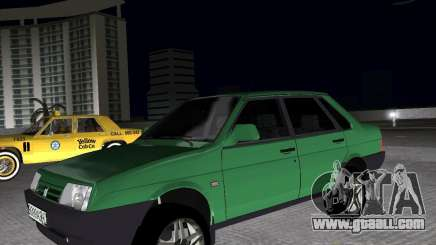 Vaz 21099 Light Tuned for GTA Vice City