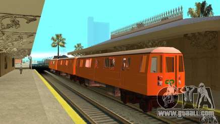 Liberty City Train CP for GTA San Andreas