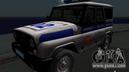 UAZ-315195 Hunter Police for GTA San Andreas
