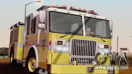 Seagrave Marauder II BCFD Engine 44 for GTA San Andreas