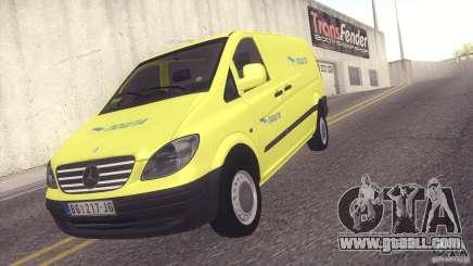 Mercedes Benz Vito Pošta Srbije for GTA San Andreas