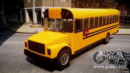 School Bus [Beta] for GTA 4