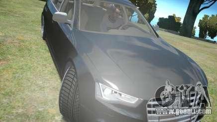 Audi A6 Avant Stanced for GTA 4