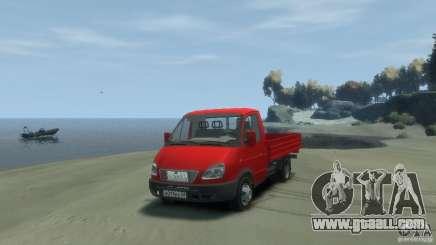 GAZ 3302-14 (Gazelle onboard) for GTA 4