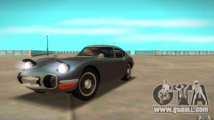 Toyota 2000GT 1969 for GTA San Andreas