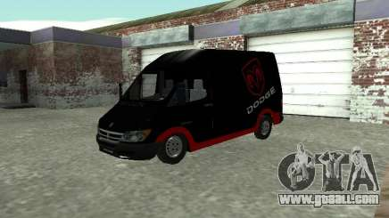 Dodge Sprinter Van 2500 for GTA San Andreas