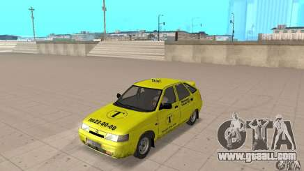 VAZ 21124 TAXI for GTA San Andreas