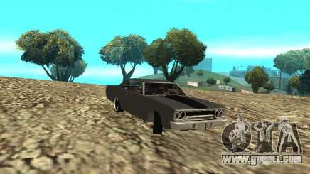 Plymouth Roadrunner 1970 for GTA San Andreas