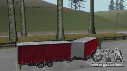 Trailer for Renault Magnum for GTA San Andreas