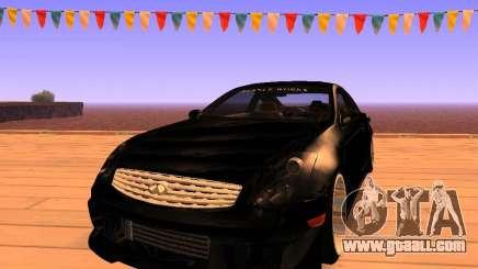 Infiniti G35 V.I.P for GTA San Andreas