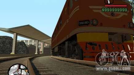 Locomotive TEP-60 for GTA San Andreas