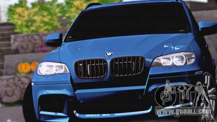 BMW X5M 2013 v1.0 for GTA San Andreas