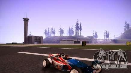 Track Mania Stadium Car for GTA San Andreas
