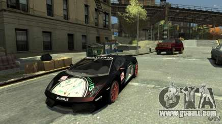 Lamborghini Gallardo SE Threep Edition [EPM] for GTA 4