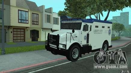 Securicar from GTA IV for GTA San Andreas