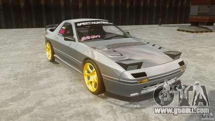 Mazda RX-7 FC3S v1.0 with vinyl for GTA 4