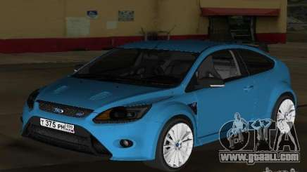 Ford Focus RS 2009 for GTA Vice City